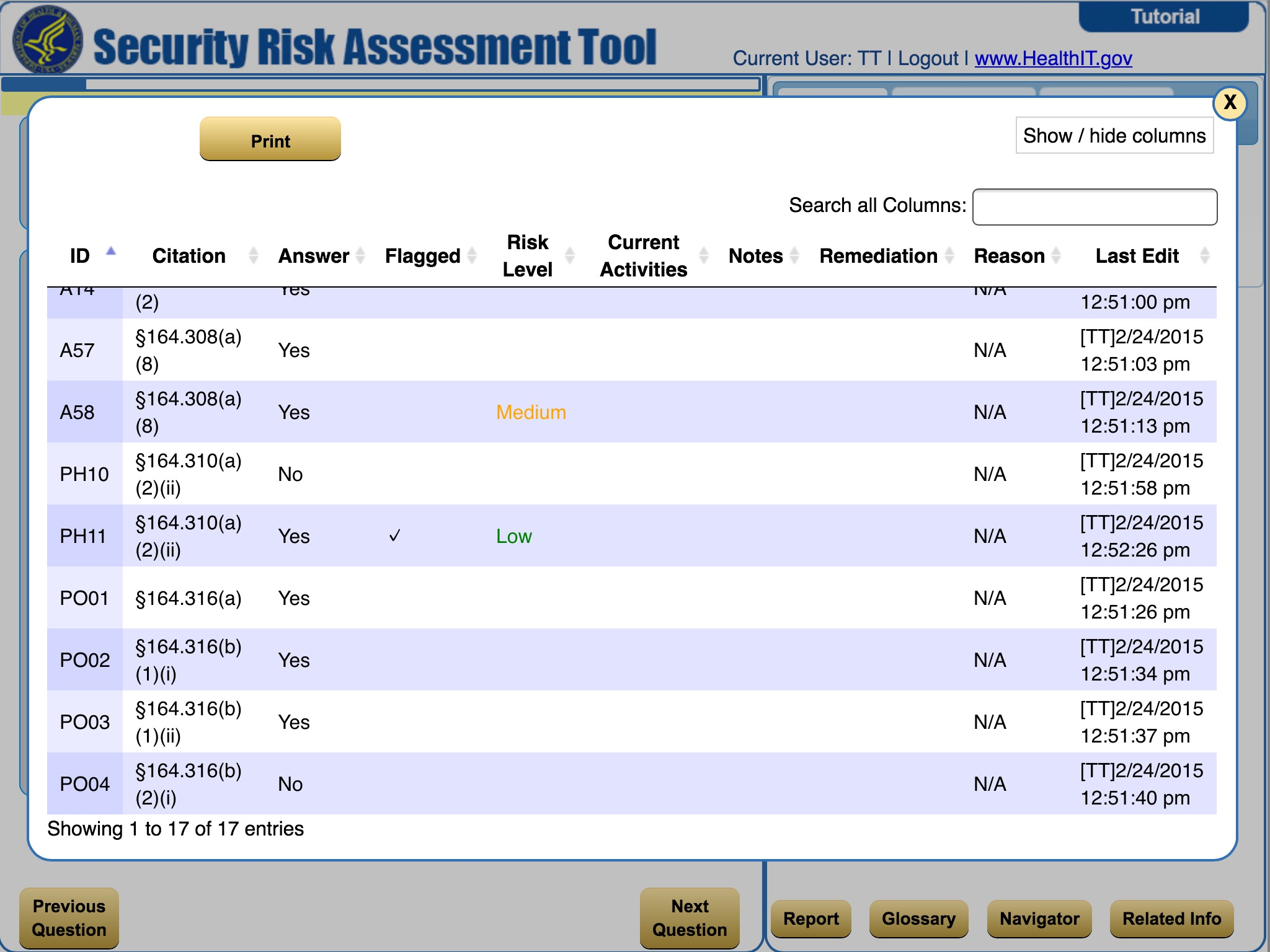 Technology, HIPAA and You Part 3: HHS Security Risk Analysis